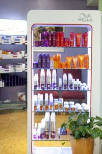 Wella Product Stand